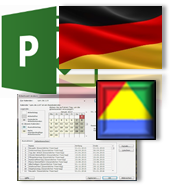 Calendar Set Germany for Microsoft.Project